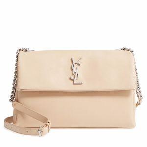 YSL  Medium West Hollywood Leather Shoulder Bag